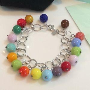 Tous multicolor stones bracelet